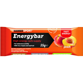 NAMEDSPORT Energy Bar Box 12 x 35g, Peach
